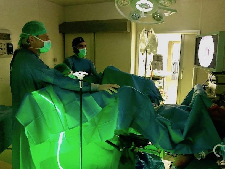 procedura laser per ingrossamento della prostata