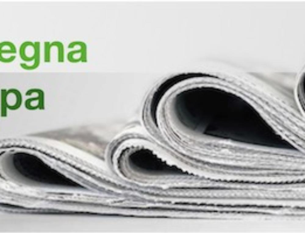 Rassegna stampa V GreenLight Expert Meeting 2019
