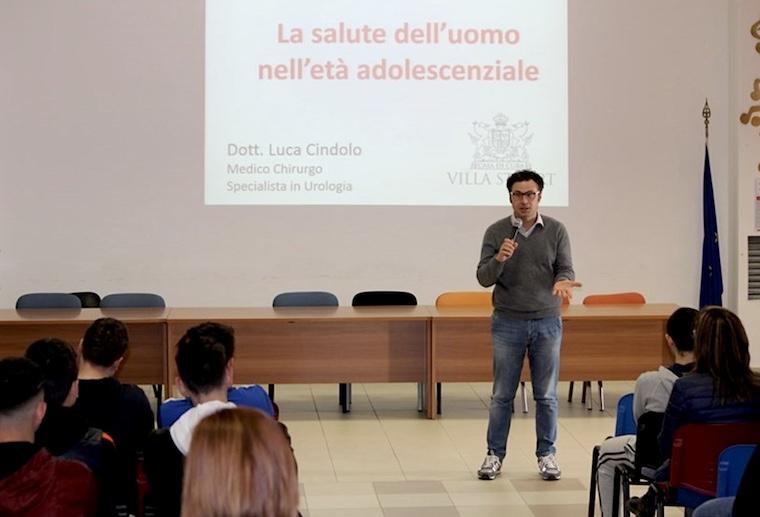 Greenlaser-IT-Luca-Cindolo-Urologo-Roma-Relatore-La-salutr-delluomo-in-età-adolescenziale