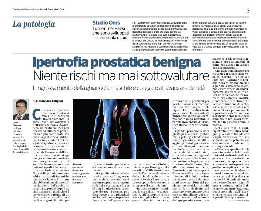 ntervista-a-Luca-Cindolo-Urologo-di-Alessandra-Caligiuri-Corriere-del-Mezzogiorno-29-aprile-2019